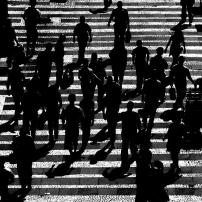 Pedestres paulistanos. Foto: Giovanna Nucci.