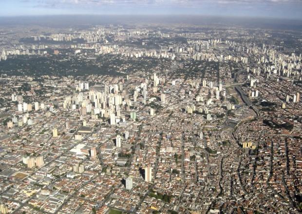 São Paulo a perder de vista. Foto: André Bonacin